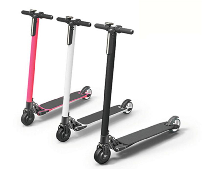 Carbon Fiber Folding Electric Scooter E4-2