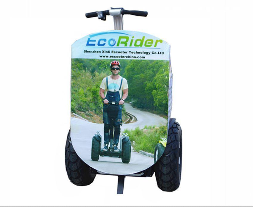 EcoRider Self Balancing Electric Scooter,Segway Advertising Banner