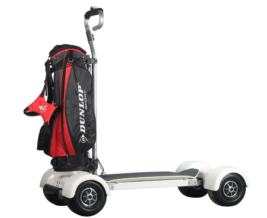 EcoRider E7-2 Four Wheel Golf Skateboard Electric Scooter