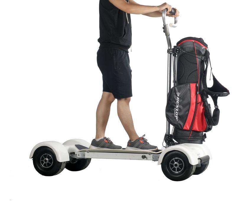 EcoRider E7-2 Four Wheel Golf Skateboard Electric Scooter
