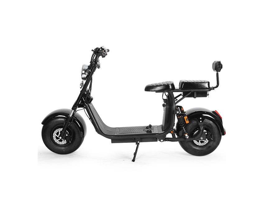 EcoRider E5-10 12ah/20ah Double Battery Harley Electric Scooter