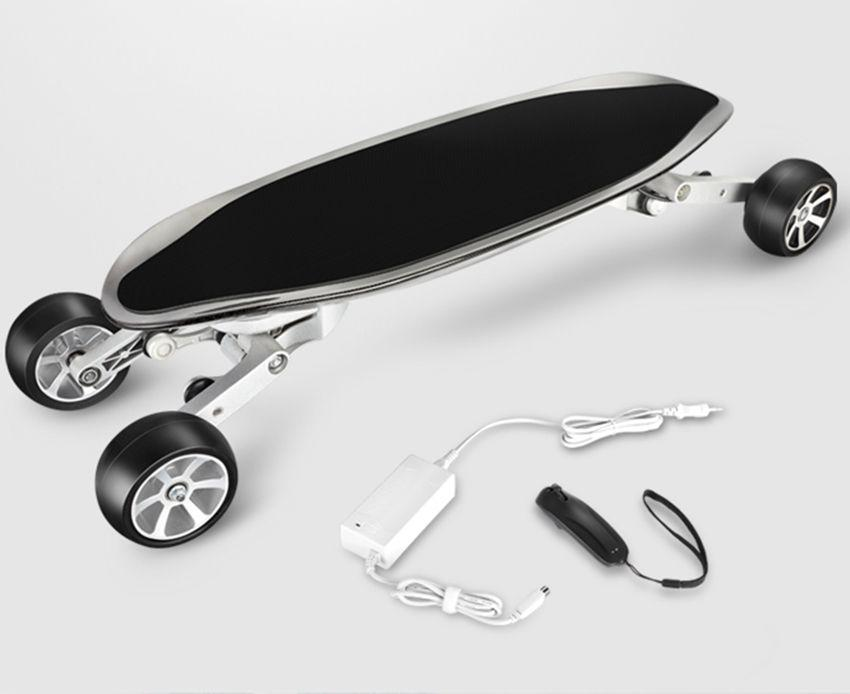 EcoRider E7-1 Carbon Fiber 4 Wheel Electric Skateboard