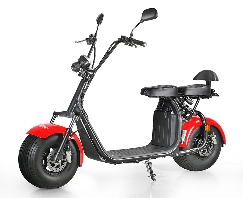 EcoRider EEC Citycoco Electric Scooter LT018 with Removable Battery