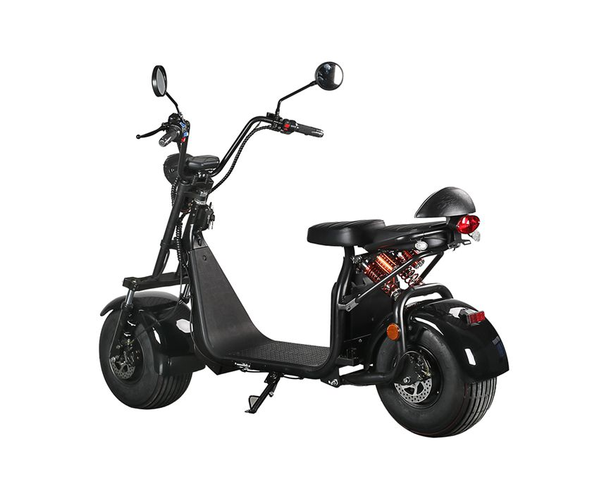 EcoRider ES057 EEC Harley Electric Scooter with Removable Battery