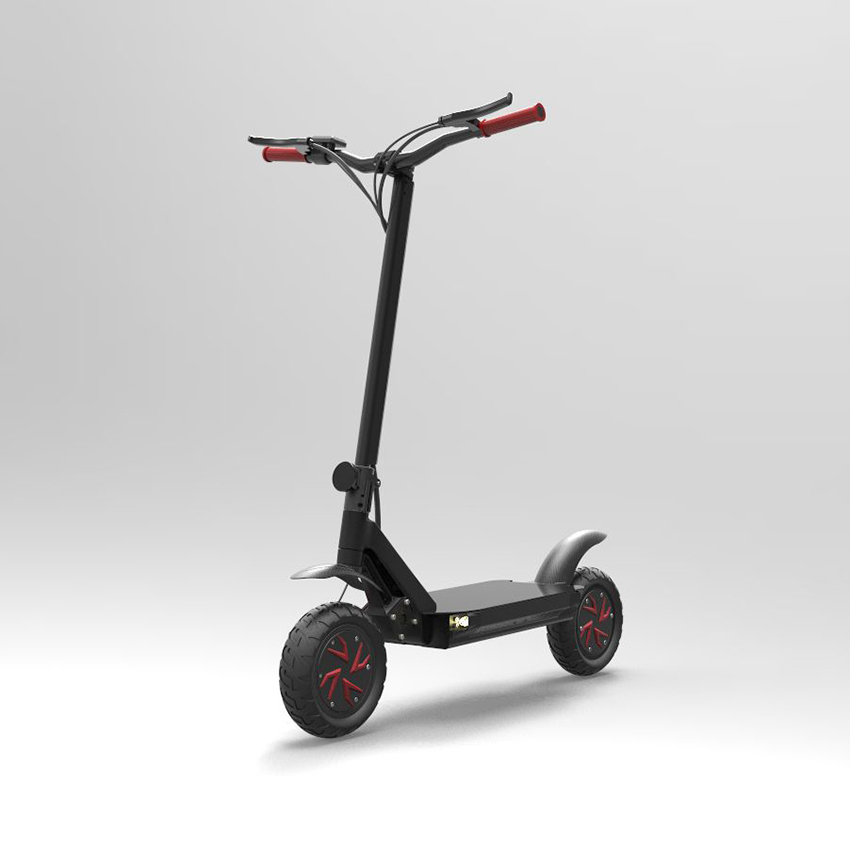10inch Dual Motor Folding Electric Scooter E4-9