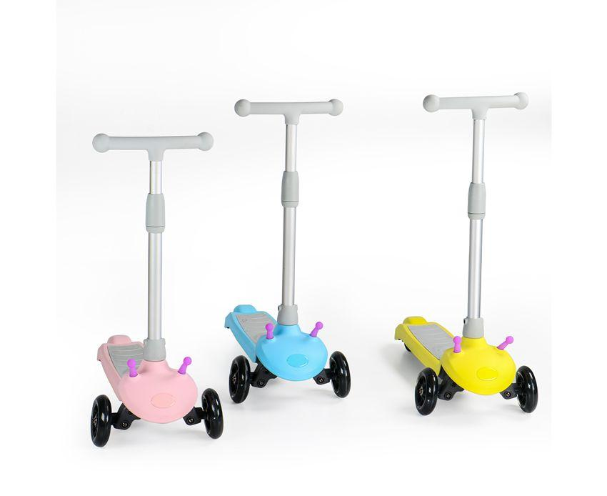 EcoRider E3 Handle Adjustable 3 Wheel Kids Electric Scooter